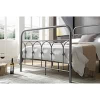 Hodedah Twin Metal Bed