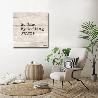 Rise' Inspirational Canvas Art by Olivia Rose