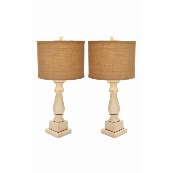 Studio 350 Set of 2, PS Table Lamp 28 inches high