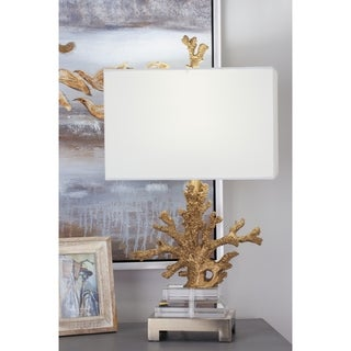Studio 350 Set of 2, PS Coral Table Lamp 26 inches high