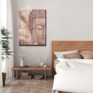 Olivia Rose 'Buddha' Inspirational Canvas Art