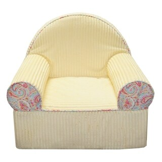Cotton Tale Designs Yellow and Paisley Baby's 1st Chair