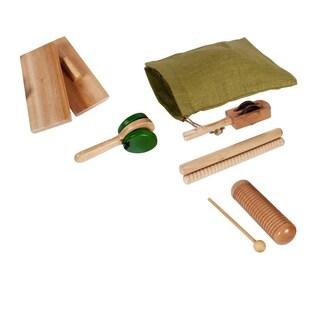 Westco Basic Wood Rhythm Kit Musical Instrument Toy