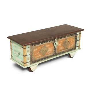 Link to Adyar 46-inch Decorative Storage Trunk  by Greyson Living Similar Items in Living Room Furniture