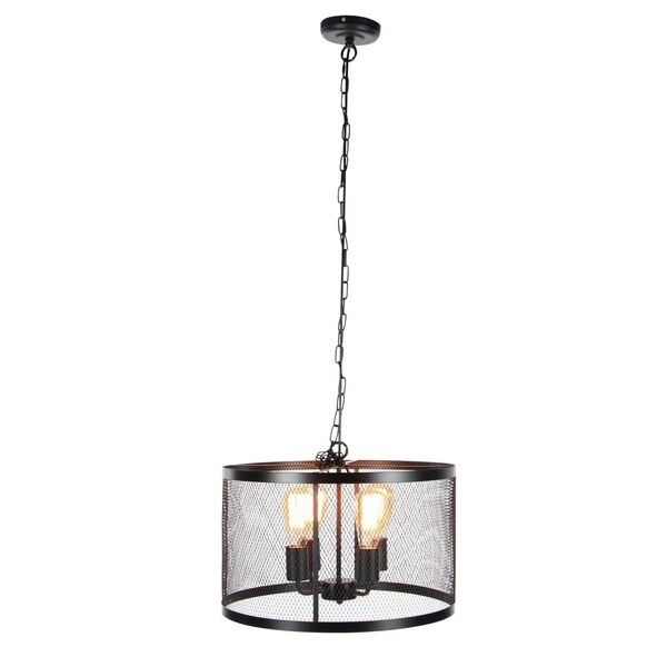 Studio 350 Metal 5 Light Pendant W Bulb 18 inches wide, 11 inches high