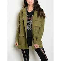 JED Women's Relaxed Fit Painter's Cargo Jacket