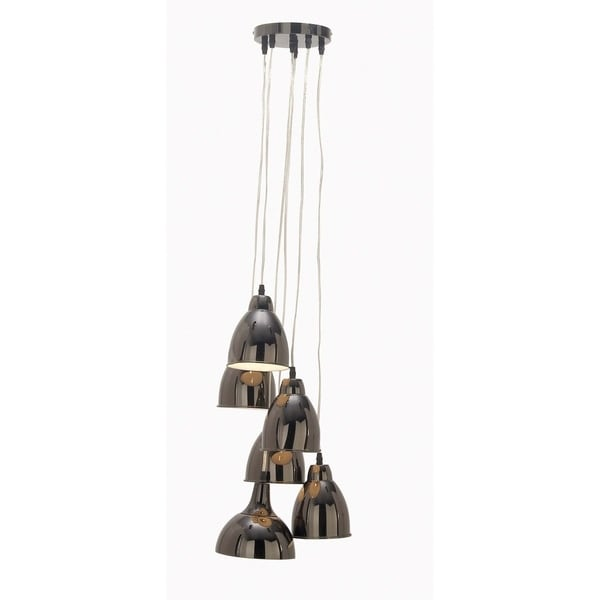 Studio 350 Metal 6 L Pendant 21 inches wide, 48 inches high