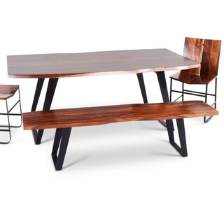 Barth Sheesham Wood Dining Bench by Greyson Living