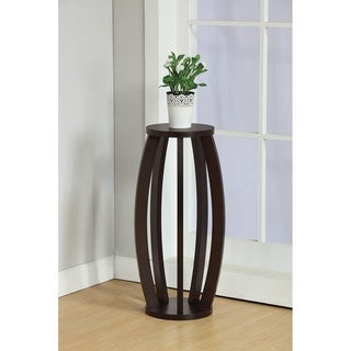 SINTECHNO S ID141002 Contemporary Stand Barrel Inspired Plant Stand