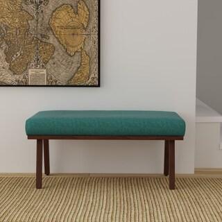 HomePop Mid Mod Decorative Bench