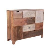 Gohana Brown Wood Multi-drawer Side Board  by Greyson Living