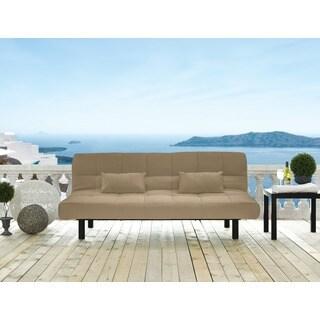Serta Santa Cruz Brown Pool and Deck Convertible Sofa by Lifestyle Solutions