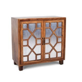 Sinnar Golden Pine Wood Accent Cabinet by Greyson Living https://ak1.ostkcdn.com/images/products/17351165/P23594492.jpg?impolicy=medium