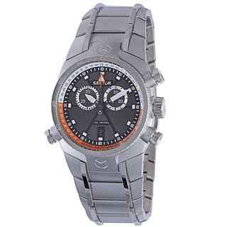 Sector Men's Quartz Chronograph Stainless Steel Bracelet Watch|https://ak1.ostkcdn.com/images/products/17351190/P23594533.jpg?impolicy=medium