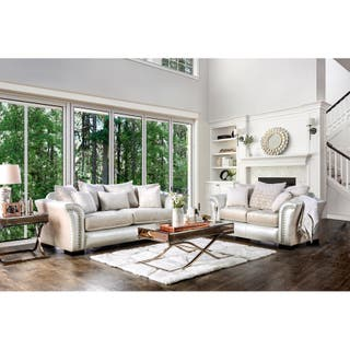 Off-White Living Room Furniture Sets For Less | Overstock