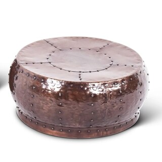 Chatra Antiqued Round Coffee Table by Greyson Living