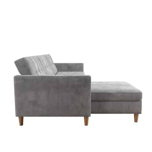 Peachy Shop Dhp Hartford Chenille Storage Sectional Futon And Lamtechconsult Wood Chair Design Ideas Lamtechconsultcom