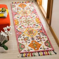 Safavieh Handmade Blossom Ivory/ Multi Wool Rug - 3' x 5'