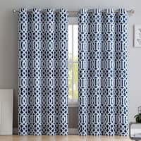 Intelligent Design Alana Geometric Print Curtain Panel