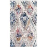 Safavieh Bristol Vintage Lavender/ Light Grey Polyester Rug - 3' x 5'
