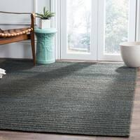 Safavieh Hand-Woven Cape Cod Dark Green Cotton Rug (3' x 5')