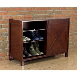Merry Products Windsor Wood Shoe Dresser