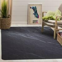 Safavieh Daytona Black Polyester Rug - 3' x 5'