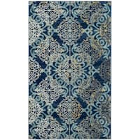 Safavieh Evoke Bohemian Royal/ Light Blue Rug - 3' x 5'