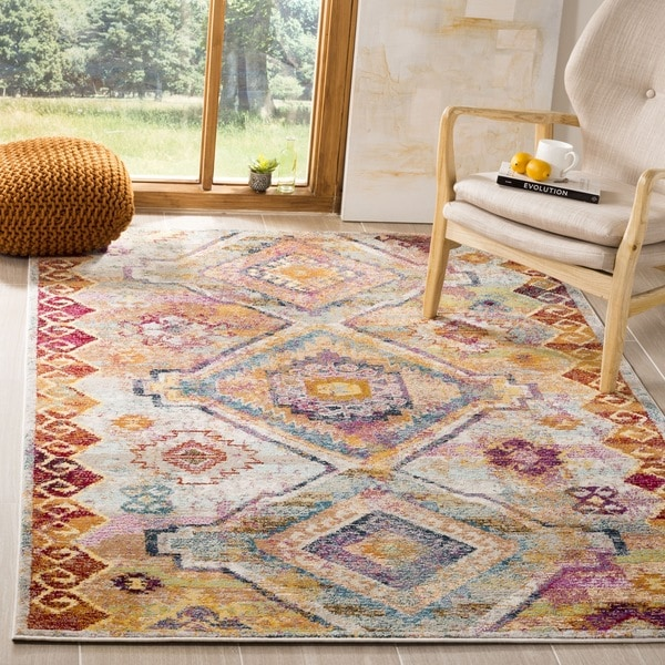 Shop Safavieh Savannah Vintage Bohemian Yellow Cream Rug