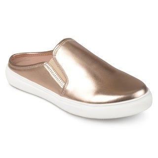 Journee Collection Women's 'Walen' Casual Round Toe Sneaker Mules