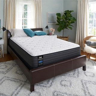 Sealy Response Performance 13-inch Plush Euro Top California King-size Gel Memory Foam Ease Adjustable Mattress Set
