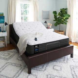 Sealy Response Performance 13-inch Plush Euro Top Full-size Ease Adjustable Mattress Set
