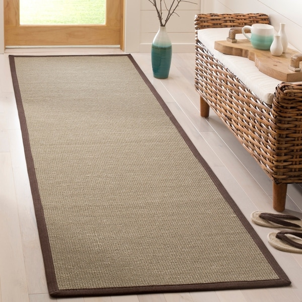 Safavieh Natural Fiber Sage Brown Sisal Rug 2 X27 6 X 8