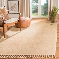 Safavieh Handmade Aspen Ivory/ Blush Wool Rug - 4' x 6'