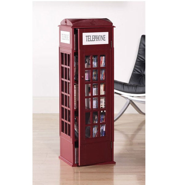 Charmant Phone Booth Media Cabinet