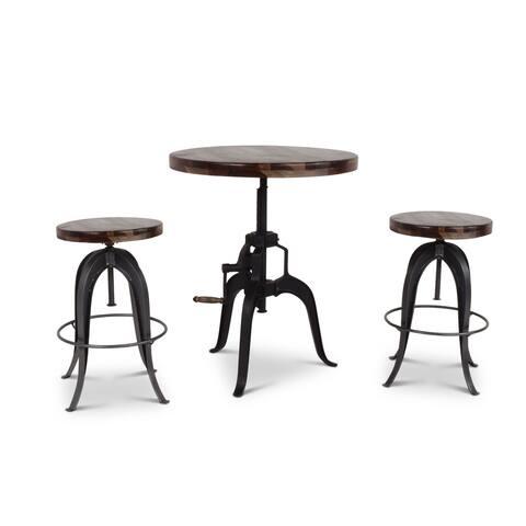Seoni Adjustable 3-Piece Pub Set by Greyson Living