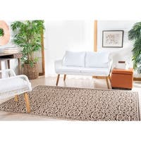 Safavieh Linden Natural/ Brown Rug - 4' x 6'
