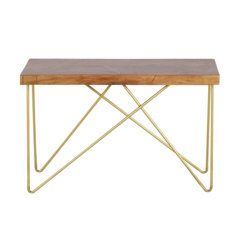 Brown Wood Sofa Table by Greyson Living