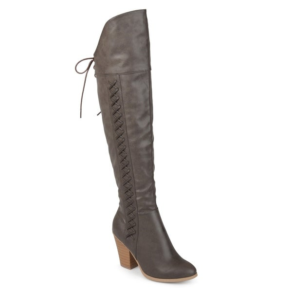 719f59fb76a Shop Journee Collection Women s  Spritz  Over-the-knee Boots - Free ...