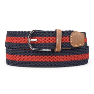Vance Co. Men's Casual Elastic Braided Belt