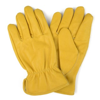 Vance Co. Men's Genuine Leather Work Gloves (2 options available)