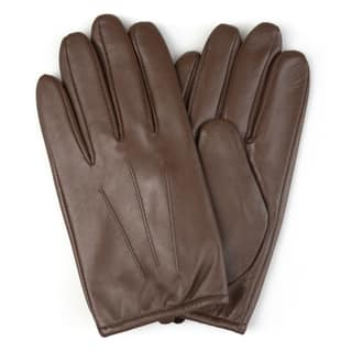 Vance Co. Men's Genuine Leather Lined Driving Gloves|https://ak1.ostkcdn.com/images/products/17352054/P23595255.jpg?impolicy=medium