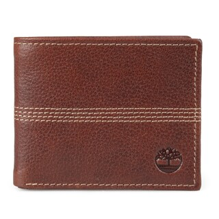 Timberland Men's Bifold Genuine Leather Wallet