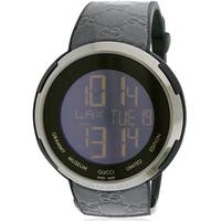 Gucci I-Gucci Leather Digital Grammy Museum Limited Edition Watch