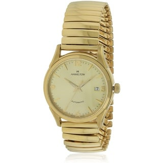 Hamilton Timeless Classic Thin-o-matic Gold-Tone Automatic Mens Watch H38435221