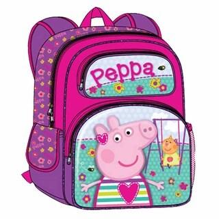 Peppa Pig 16-inch 3D Kids Backpack