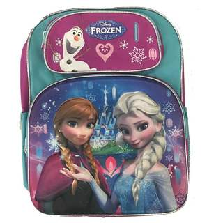 Disney Frozen 3D Elsa & Anna 16-inch Kids Backpack