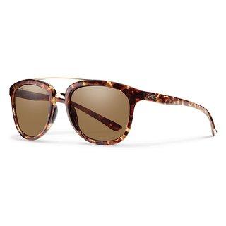 Smith Optics Clayton Tortoise Yellow Frame Brown Polarized Lens Sunglasses