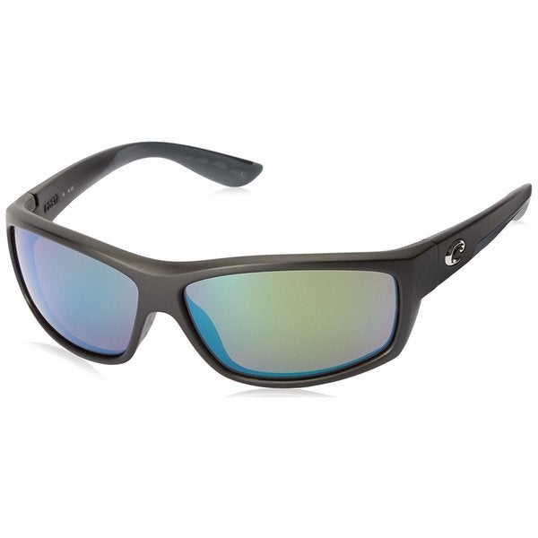 e32796162195 Shop Costa Del Mar Saltbreak Black Frame 580G Green Mirror Lens Sunglasses  - Free Shipping Today - Overstock - 17353178