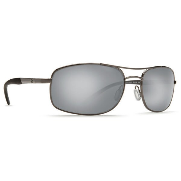 99812304770ab Shop Costa Del Mar Seven Mile Gunmetal Silver Frame Polarized Silver Mirror  Wave 580G Lens Sunglasses - Free Shipping Today - Overstock - 17353183
